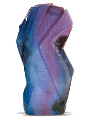 William Morris Blue Standing Stone